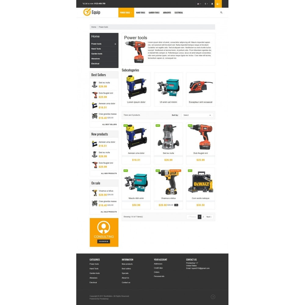 theme - Дом и сад - VP_Equip Store - 3