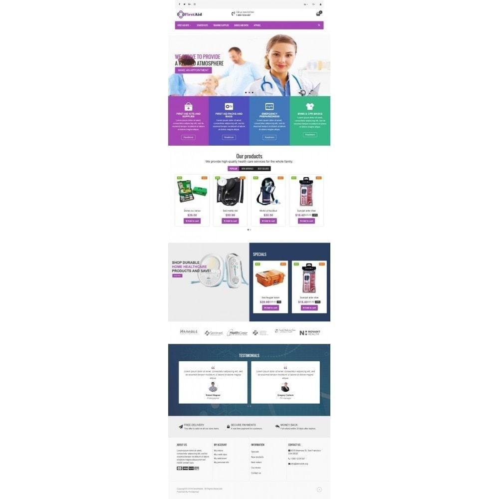 theme - Здоровье и красота - VP_FirstAID Store - 2