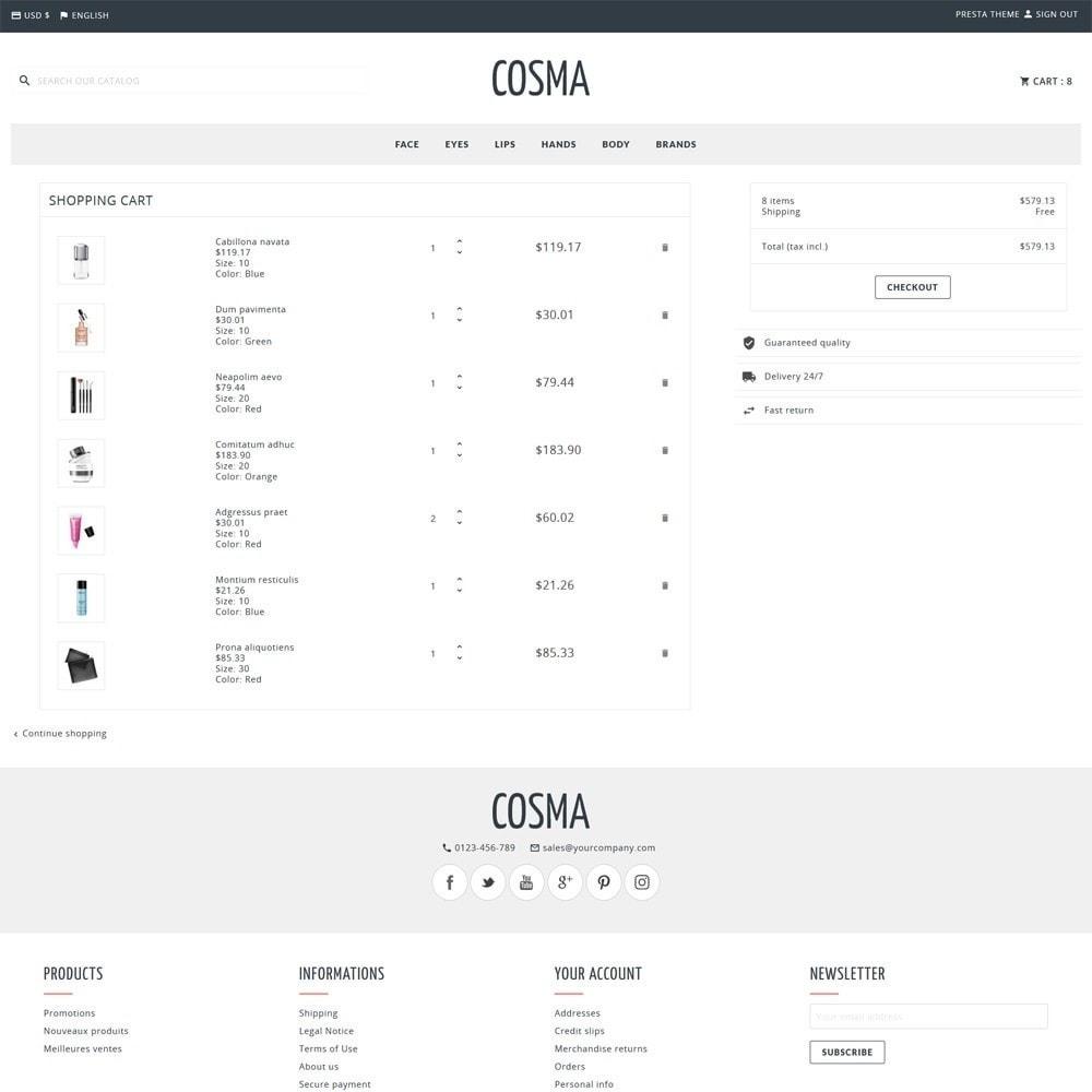 theme - Zdrowie & Uroda - Cosma - 4