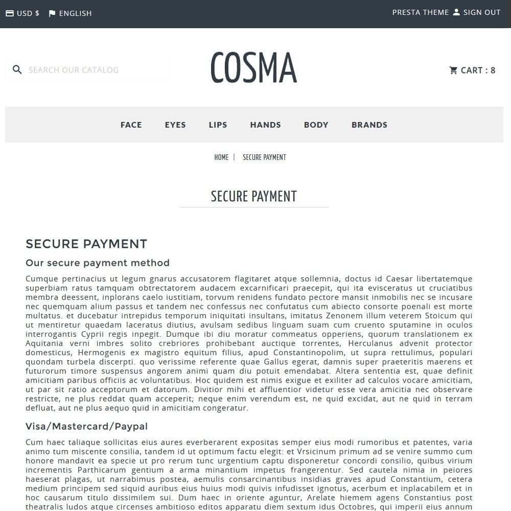 theme - Здоровье и красота - Cosma - 11
