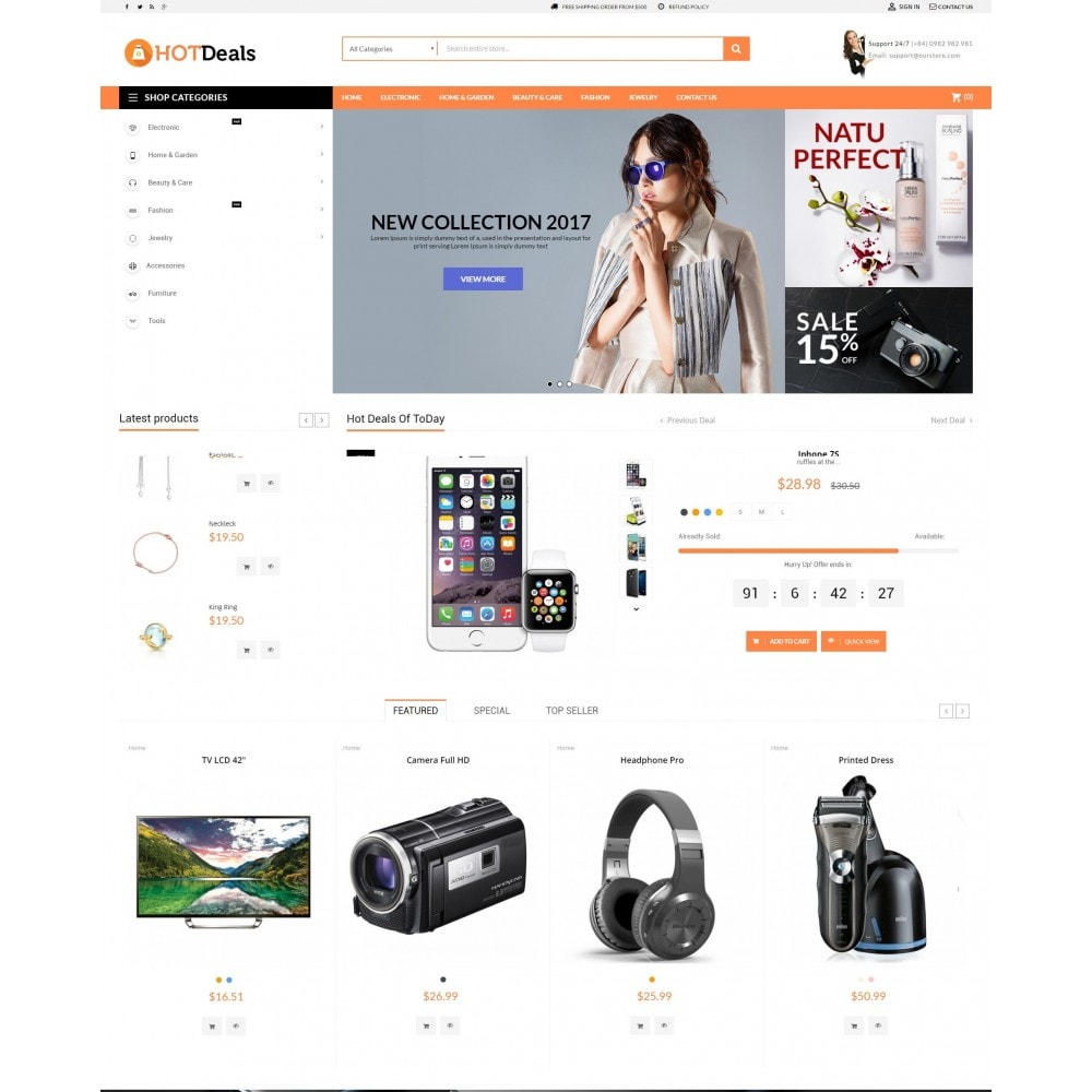 theme - Electronics & Computers - HotDeals Market - 2