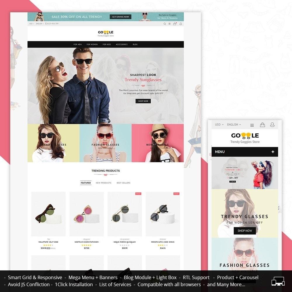 theme - Moda & Calzature - Goggles Store - 1