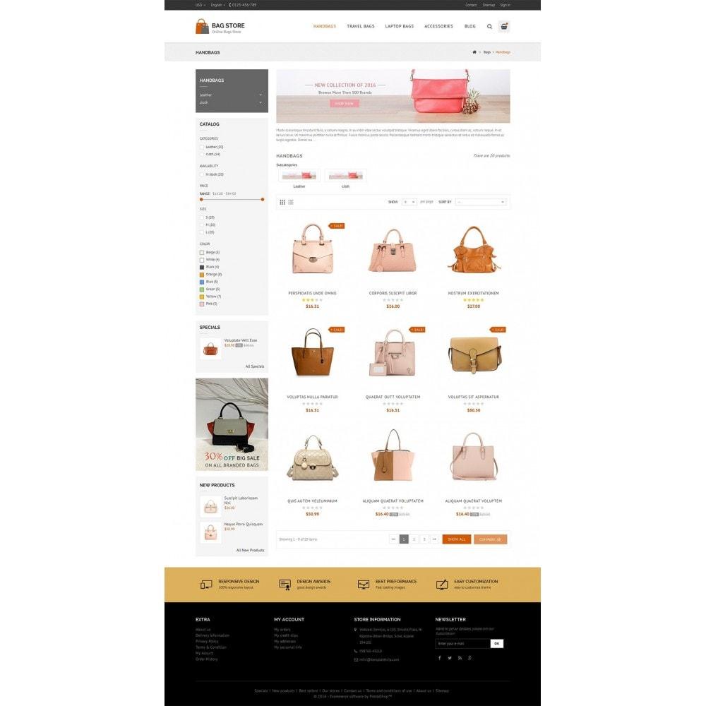 theme - Fashion & Shoes - Bags Store - 3