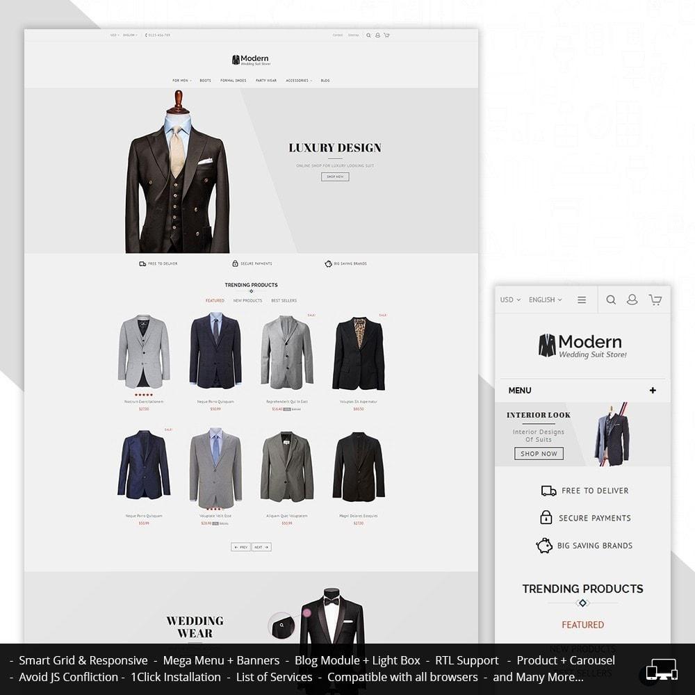 theme - Moda & Calçados - Suit Store - 1
