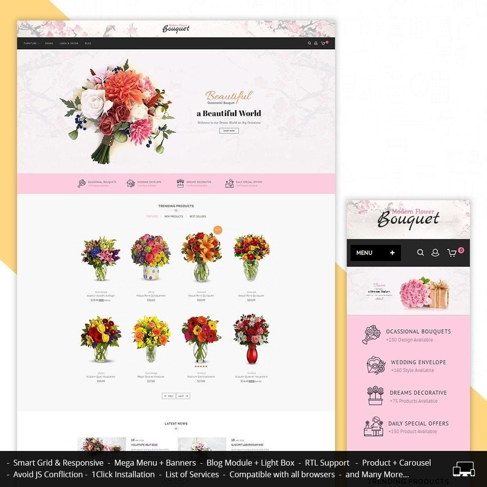 theme - Подарки, Цветы и праздничные товары - Flower Store - 1