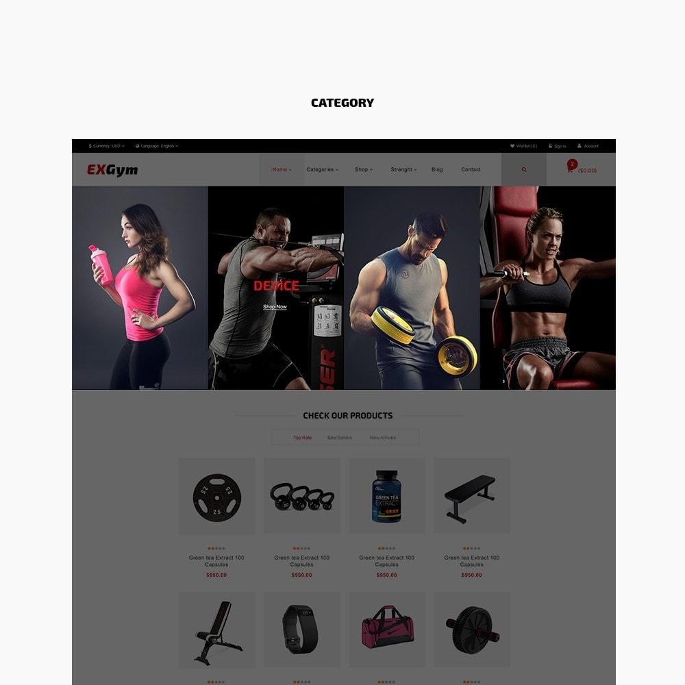 theme - Desporto, Actividades & Viagens - Leo Exgym - 3