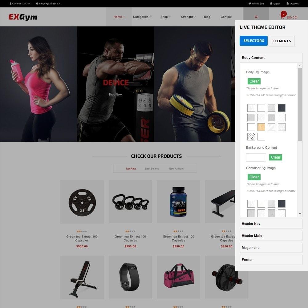 theme - Desporto, Actividades & Viagens - Leo Exgym - 7