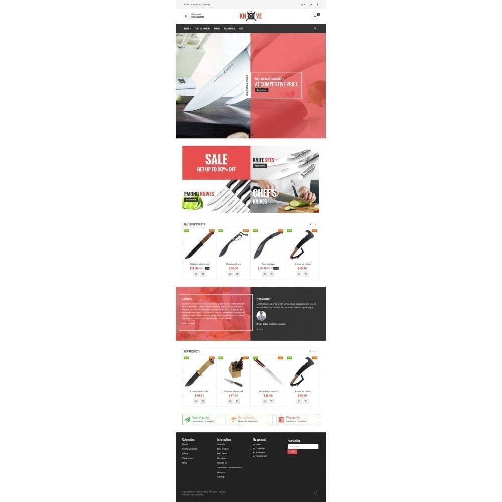 theme - Żywność & Restauracje - VP_Knives Store - 2