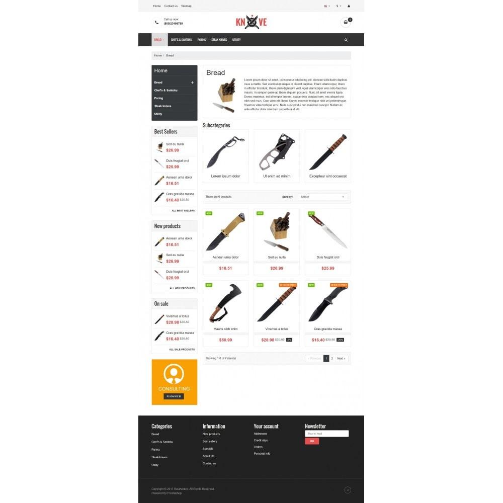theme - Żywność & Restauracje - VP_Knives Store - 3