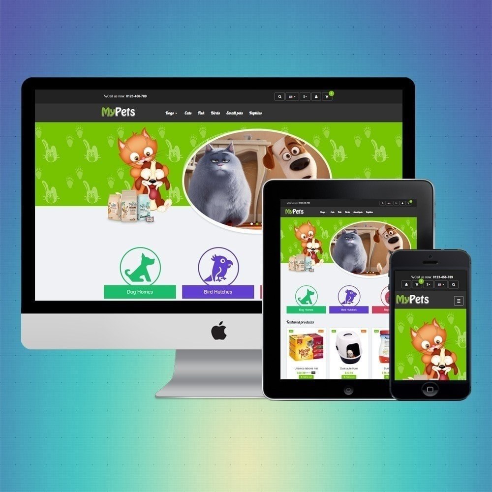 theme - Animais - VP_MyPets Store - 1