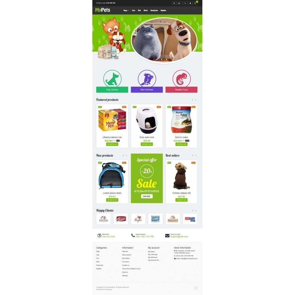 theme - Animais - VP_MyPets Store - 2