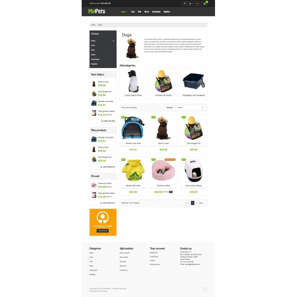 theme - Animais - VP_MyPets Store - 3