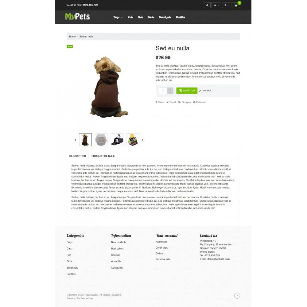 theme - Animais - VP_MyPets Store - 4