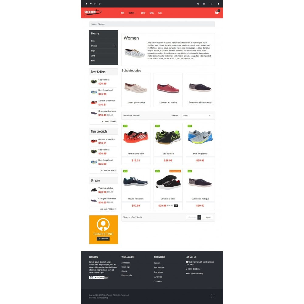theme - Mode & Chaussures - VP_Sneakers - Page Builder - 3