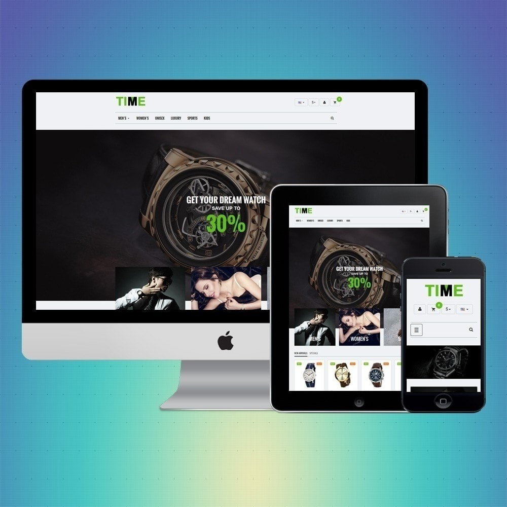 theme - Joalheria & Acessórios - VP_Time Store - 1