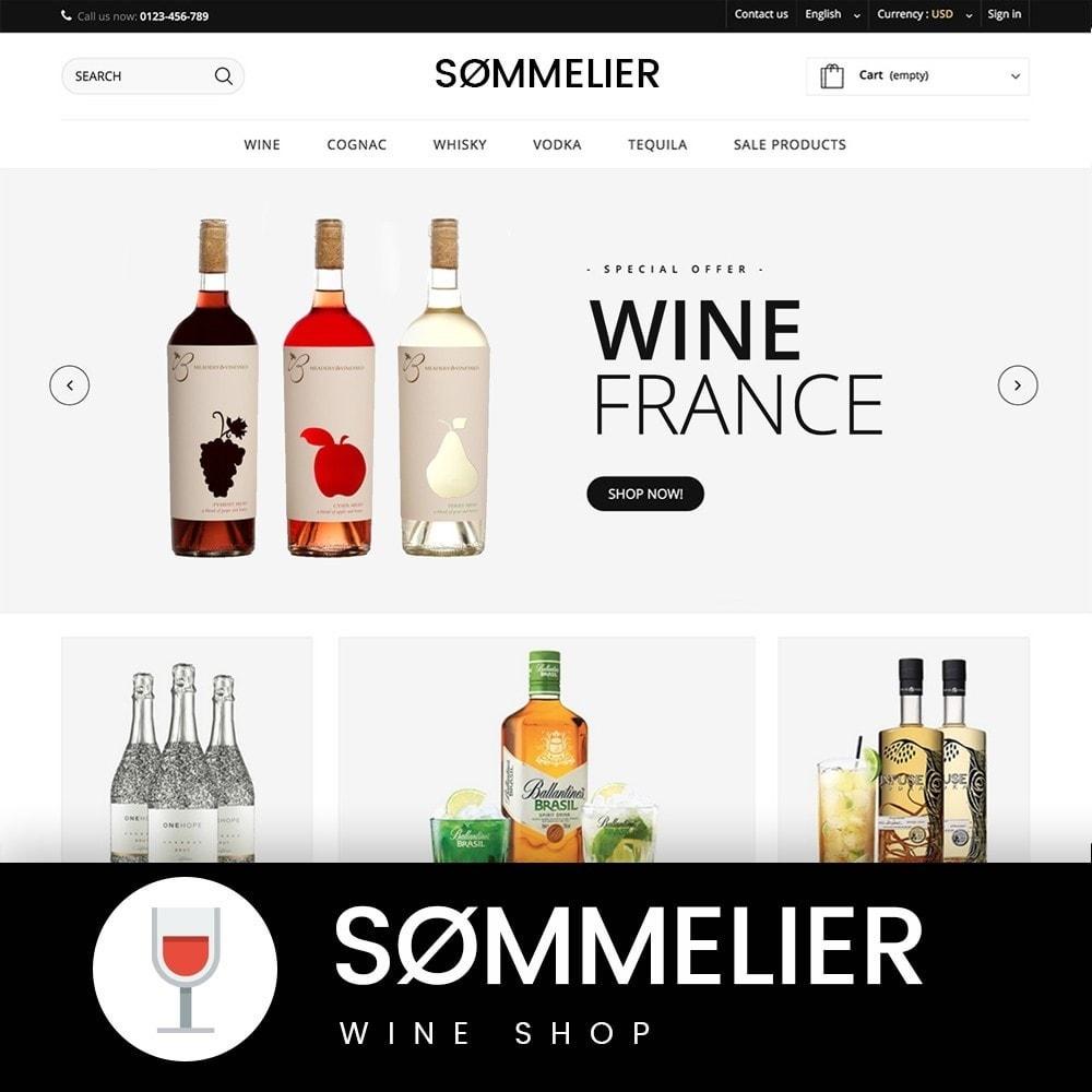 theme - Napoje & Wyroby tytoniowe - SOMMELIER - 1