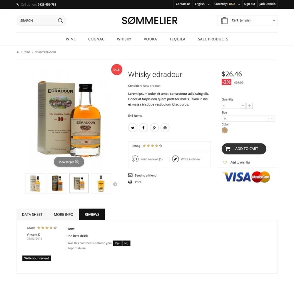 theme - Napoje & Wyroby tytoniowe - SOMMELIER - 3
