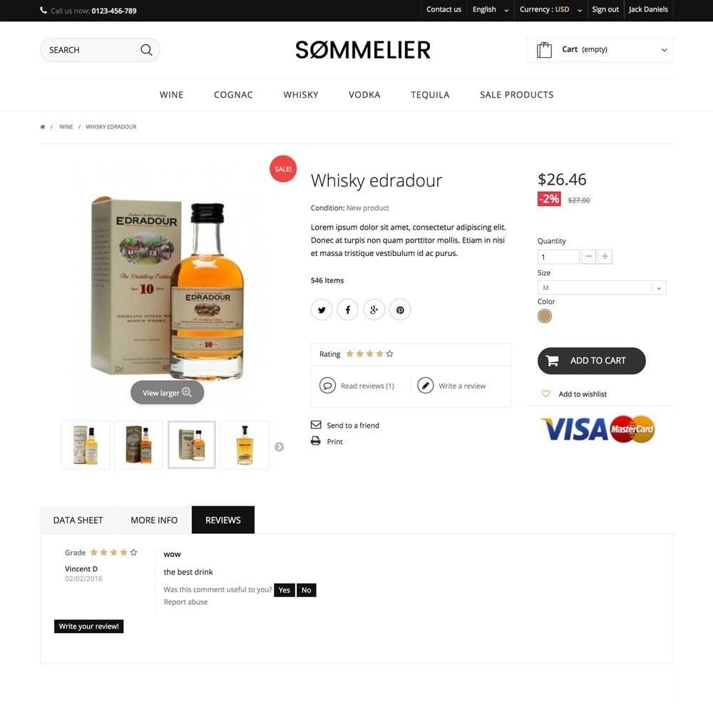 theme - Напитки и с сигареты - SOMMELIER - 3