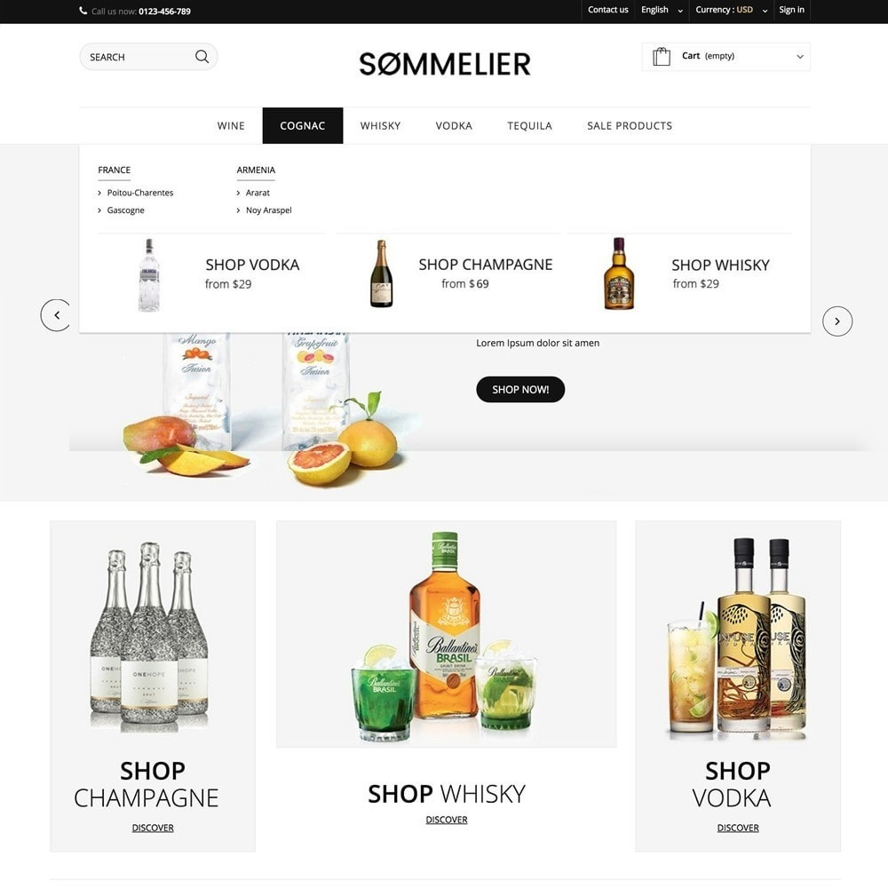 theme - Boissons & Tabac - SOMMELIER - 4