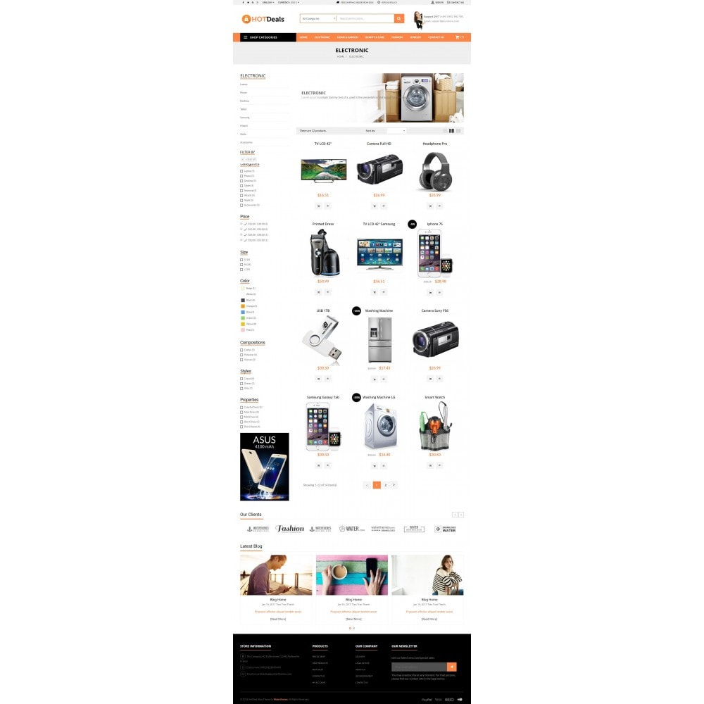 theme - Electronics & Computers - HotDeals Market - 5