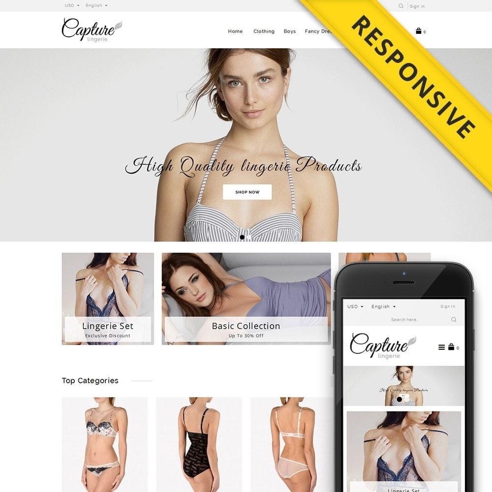 theme - Нижнее белье и товары для взрослых - Capture Lingerie Online Store - 1