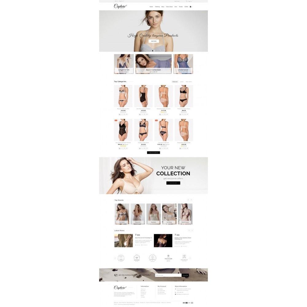 theme - Нижнее белье и товары для взрослых - Capture Lingerie Online Store - 2