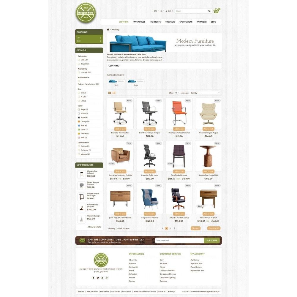 theme - Maison & Jardin - Wooden Work Shop - 3
