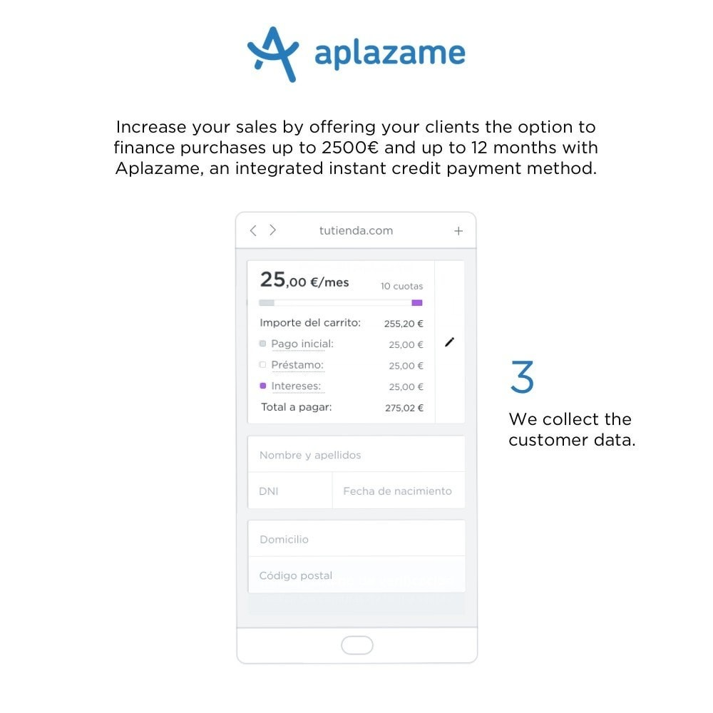 module - Other Payment Methods - Aplazame - 3