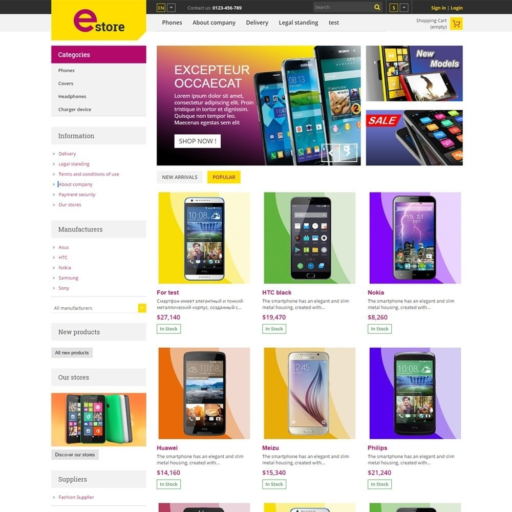 theme - Elektronik & High Tech - Estore Gadget Store - 2