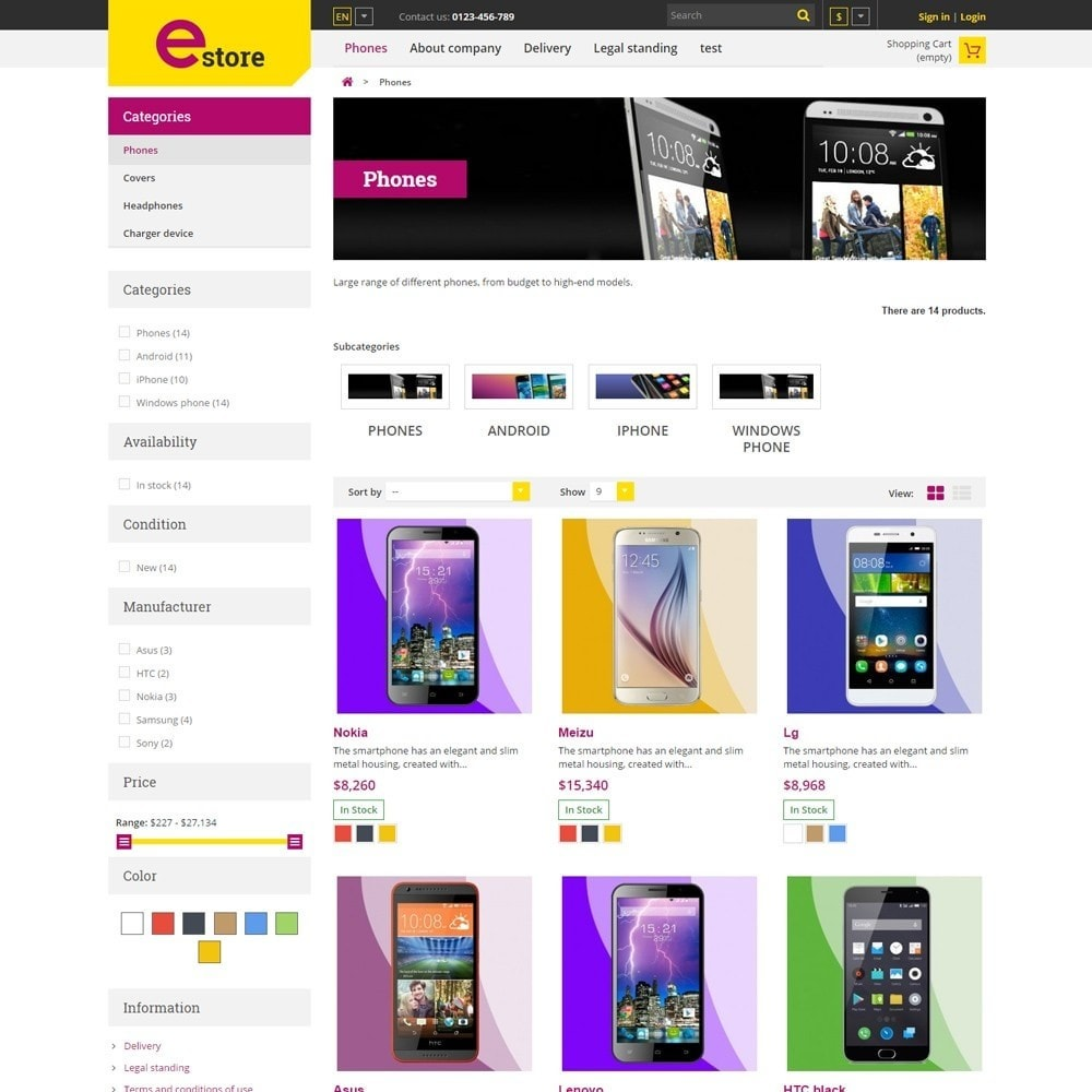 theme - Elektronik & High Tech - Estore Gadget Store - 3