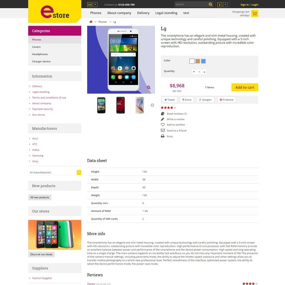 theme - Elektronik & High Tech - Estore Gadget Store - 4