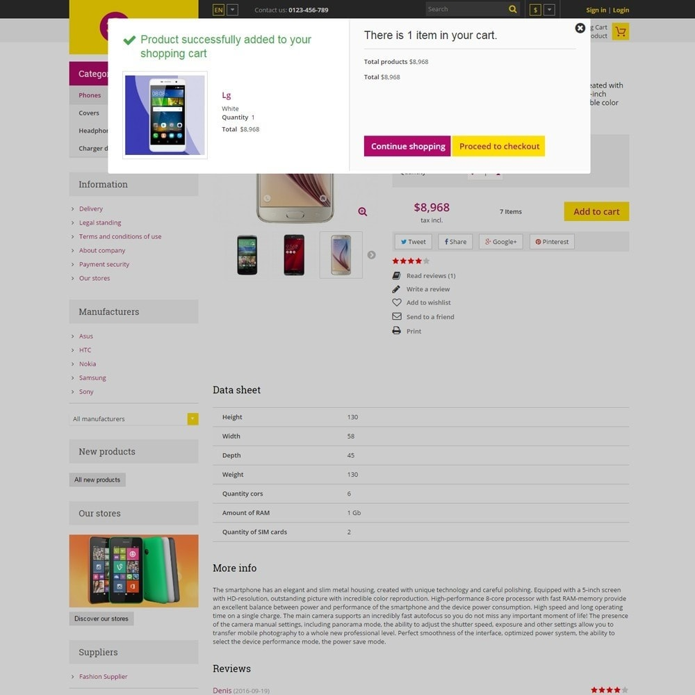 theme - Elektronik & High Tech - Estore Gadget Store - 5