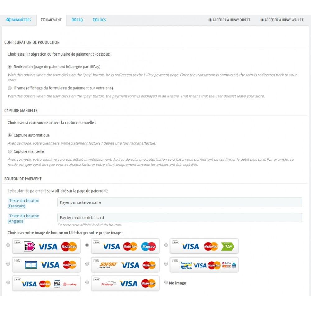 module - Pagamento por cartão ou por carteira - HiPay - 5