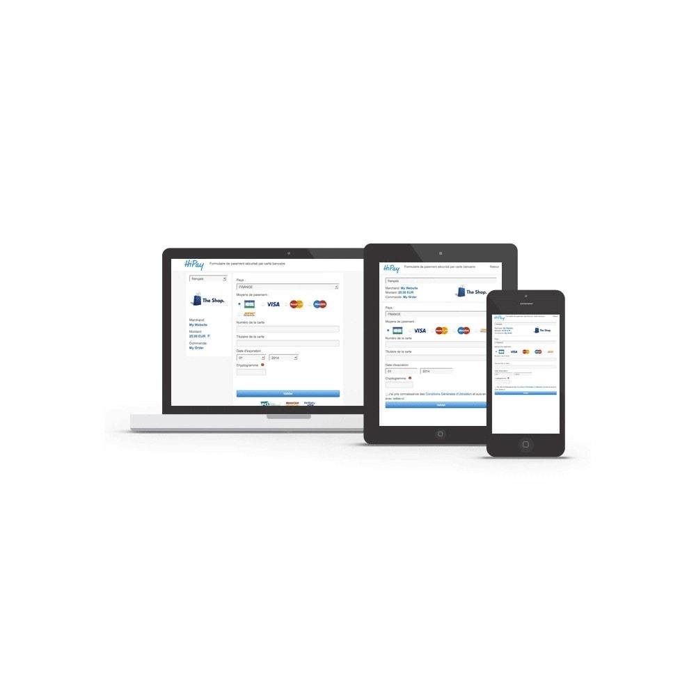 module - Paiement par Carte ou Wallet - HiPay - 7