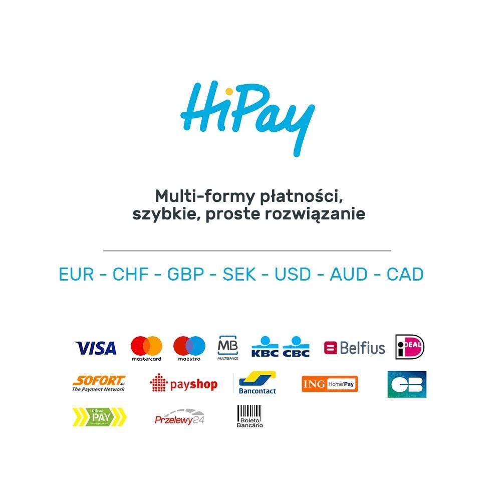 module - Płatność kartą lub Płatność Wallet - HiPay - 8