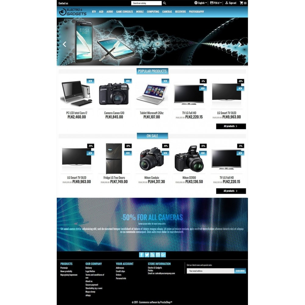 theme - Eletrônicos & High Tech - Electro & Gadgets - 2