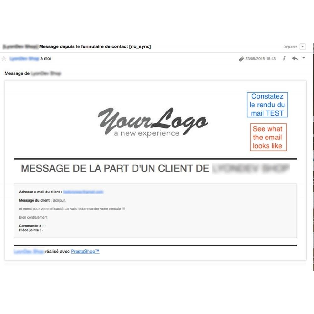 module - E-mails & Notifications - Editeur de mail personnalisé - 1