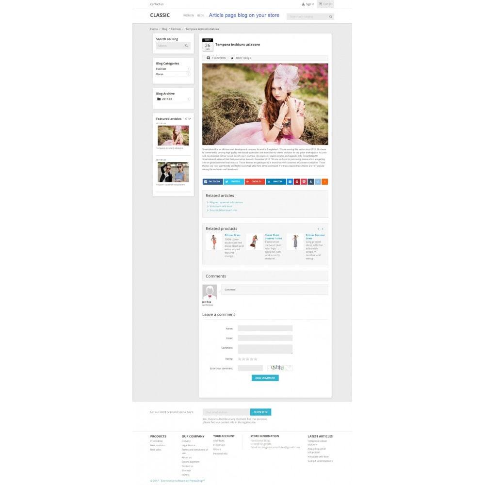 module - Blog, Forum & News - Functional Blog - 4