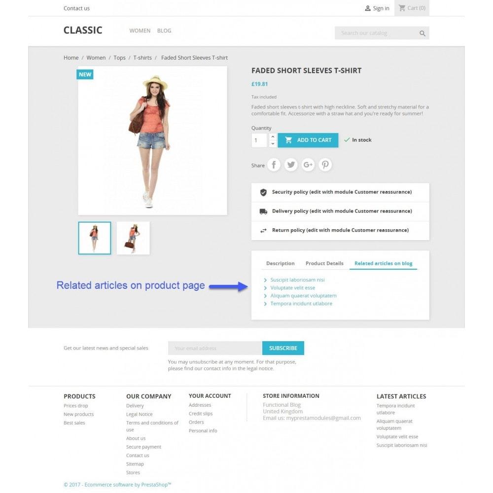 module - Blog, Forum & Actualités - Functional Blog - 7