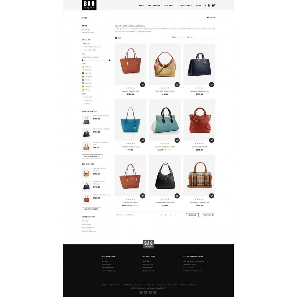 theme - Mode & Schuhe - Leather Bag Store - 3