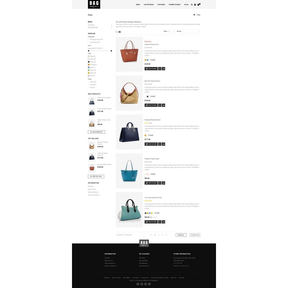 theme - Mode & Schuhe - Leather Bag Store - 4