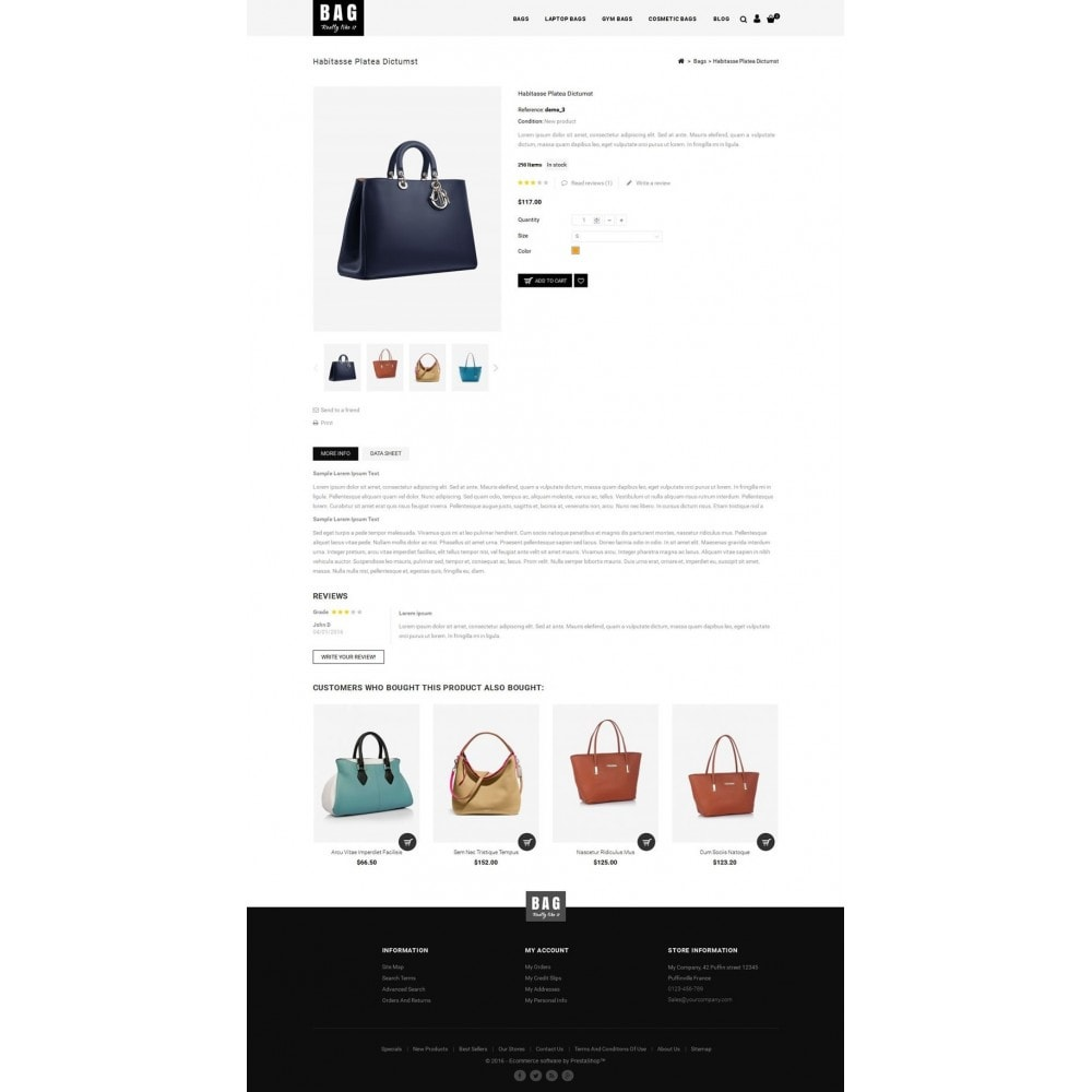 theme - Mode & Schuhe - Leather Bag Store - 5