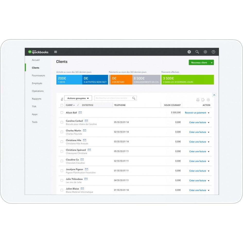 module - Comptabilité & Facturation - QuickBooks- La solution de gestion n°1 mondiale pour les entrepreneurs et leur expert-comptable - 3