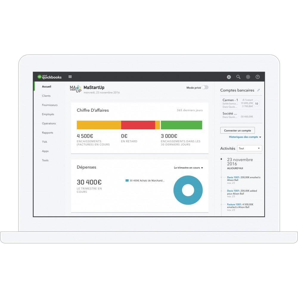 module - Comptabilité & Facturation - QuickBooks- La solution de gestion n°1 mondiale pour les entrepreneurs et leur expert-comptable - 4