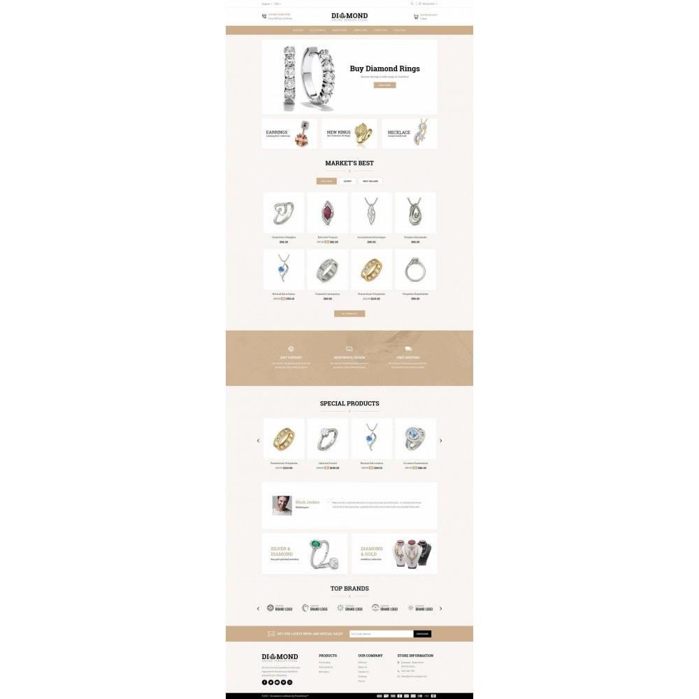 theme - Jewelry & Accessories - Diamond Jewelry Store - 2