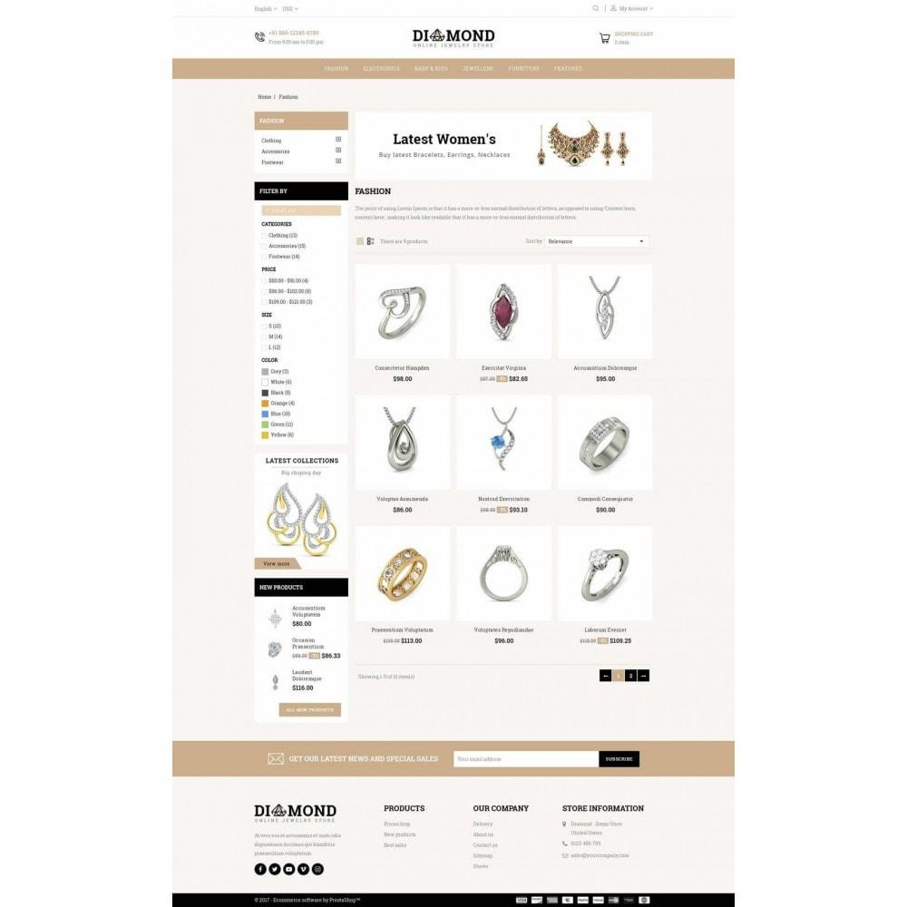 theme - Joyas y Accesorios - Diamond Jewelry Store - 3