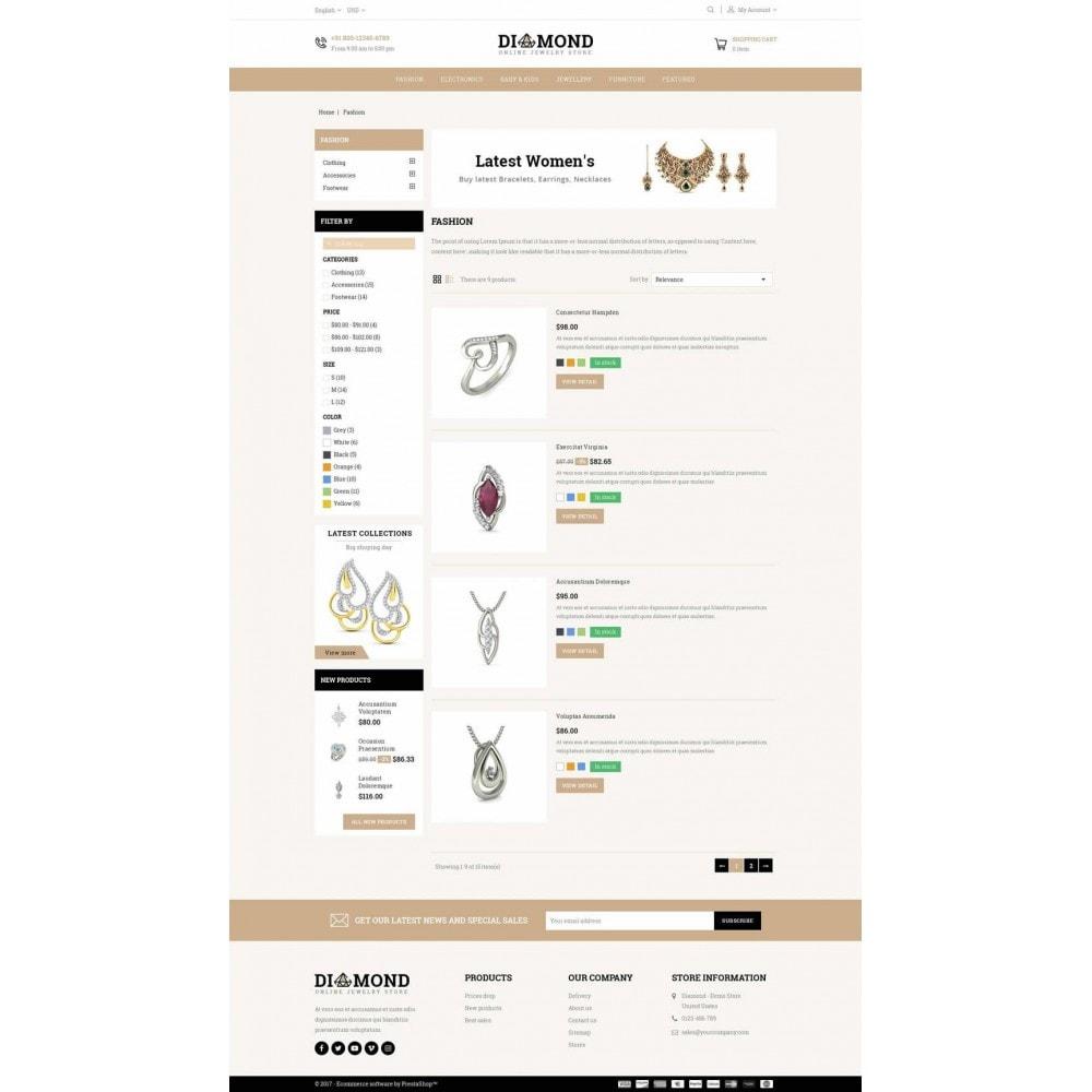 theme - Jewelry & Accessories - Diamond Jewelry Store - 4