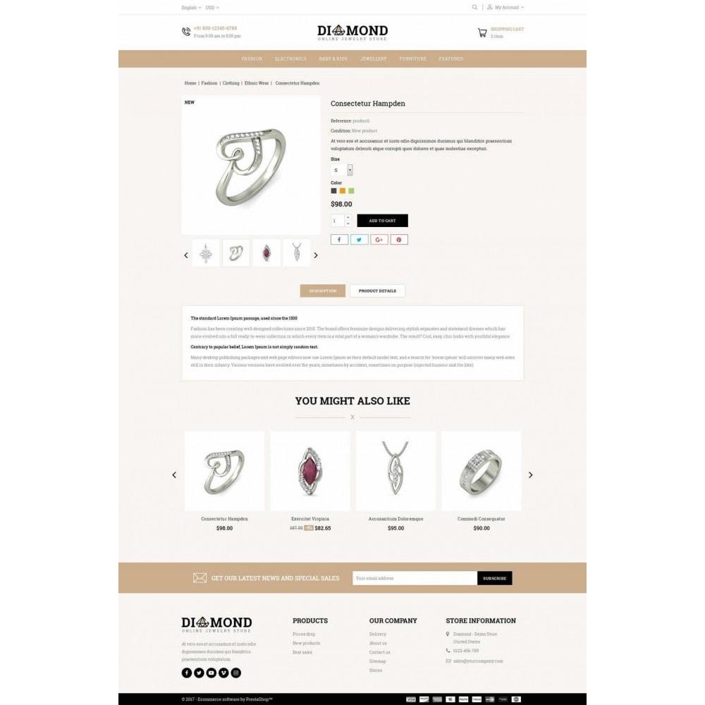 theme - Joyas y Accesorios - Diamond Jewelry Store - 5