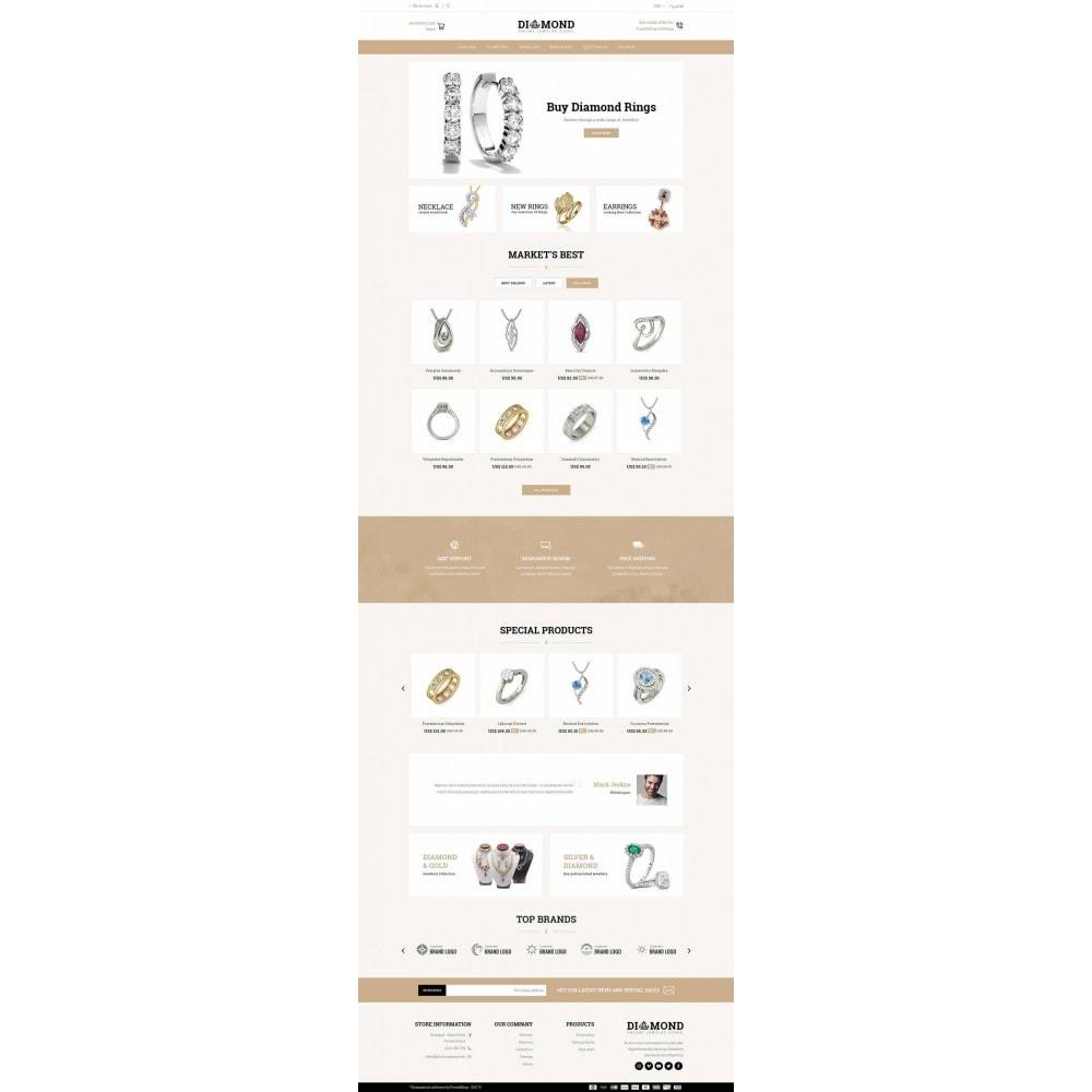 theme - Jewelry & Accessories - Diamond Jewelry Store - 6