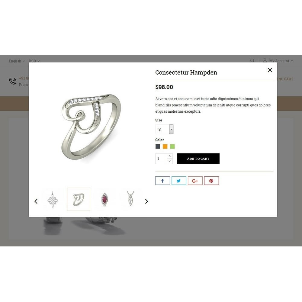 theme - Bijoux & Accessoires - Diamond Jewelry Store - 8